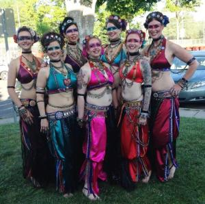 Vespertina Dance Project at Tribal Fest 2014, Sebastapol, CA